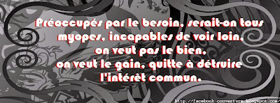Couverture facebook timeline citation rap