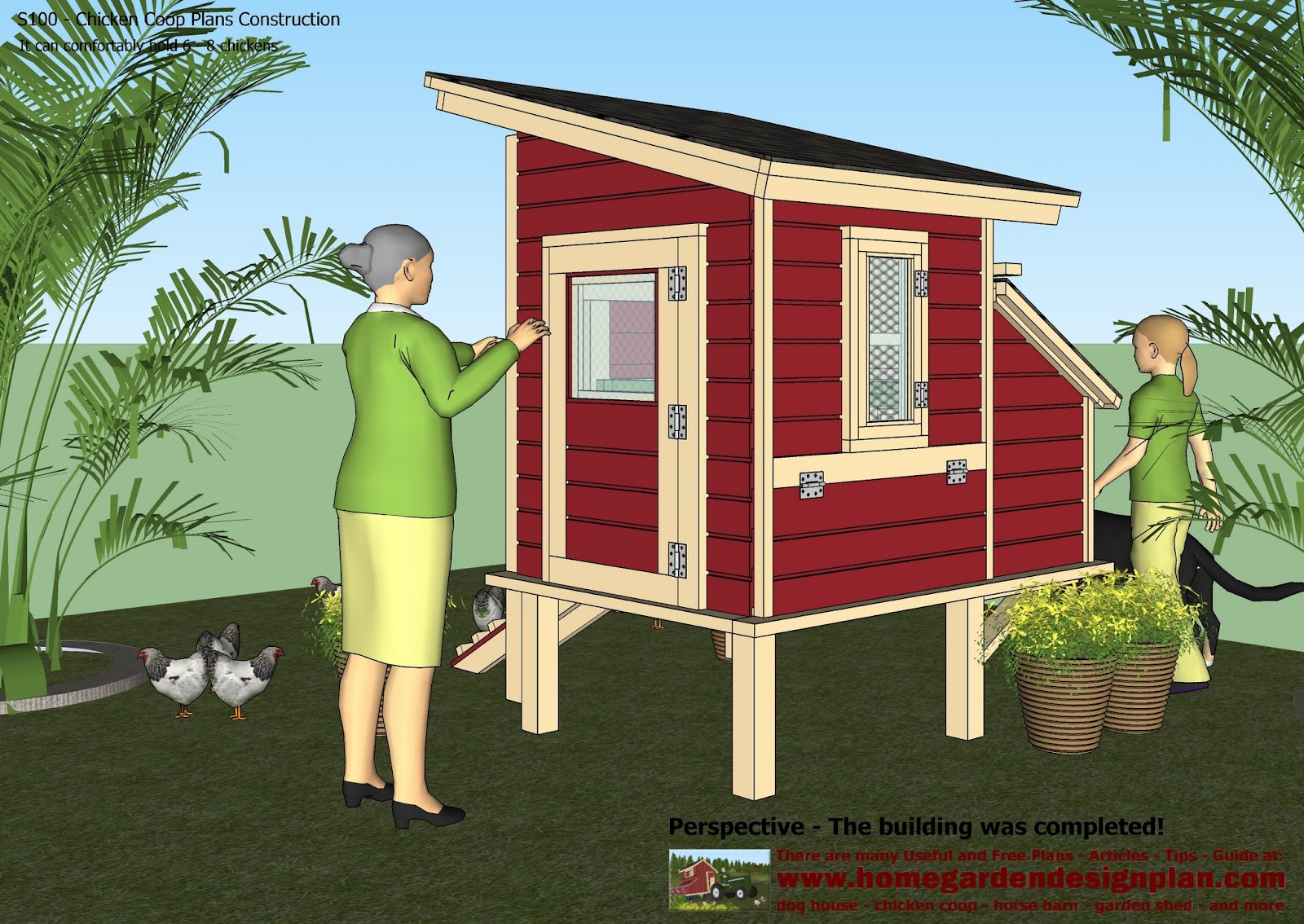 how to build a chicken coup