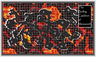 GIMP2 Dungeon Map