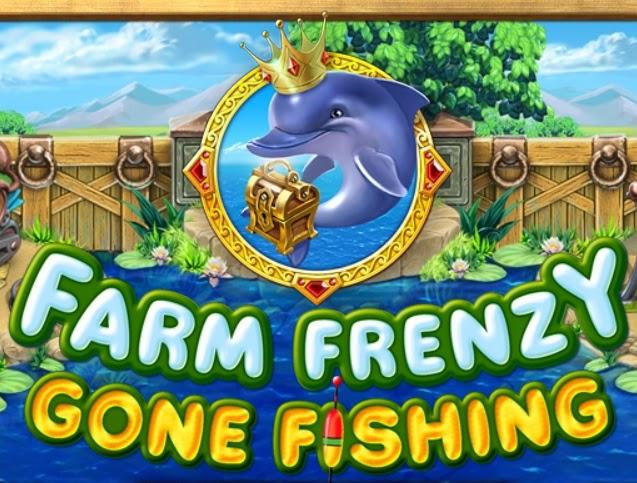 لعبة المزرعة المجنونة والسعيدة و صيد السمك|الاسماك|Play Farm Frenzy Gone Fishing من العاب اون لاين بدون تحميل.