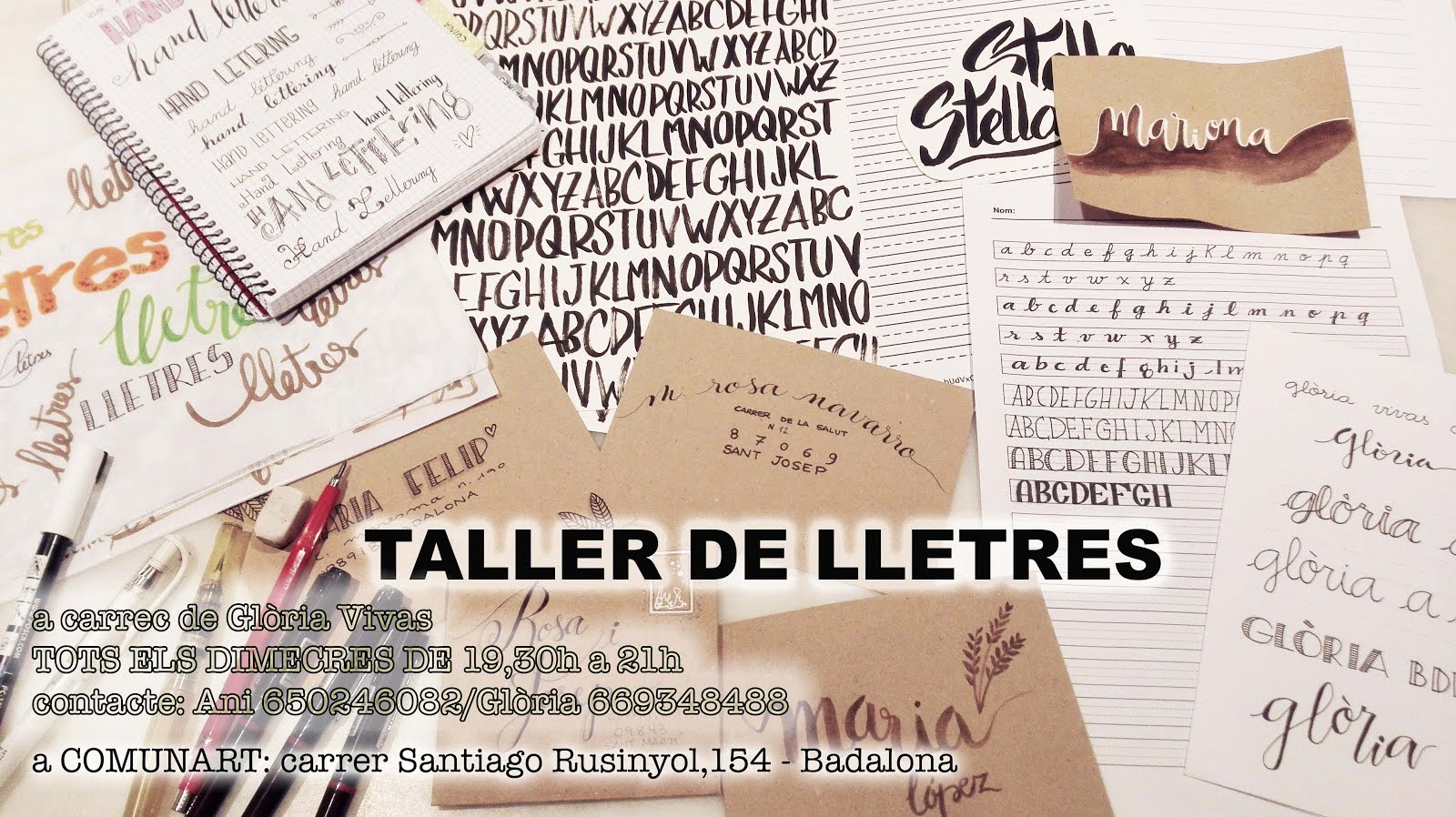 TALLER DE LLETRES