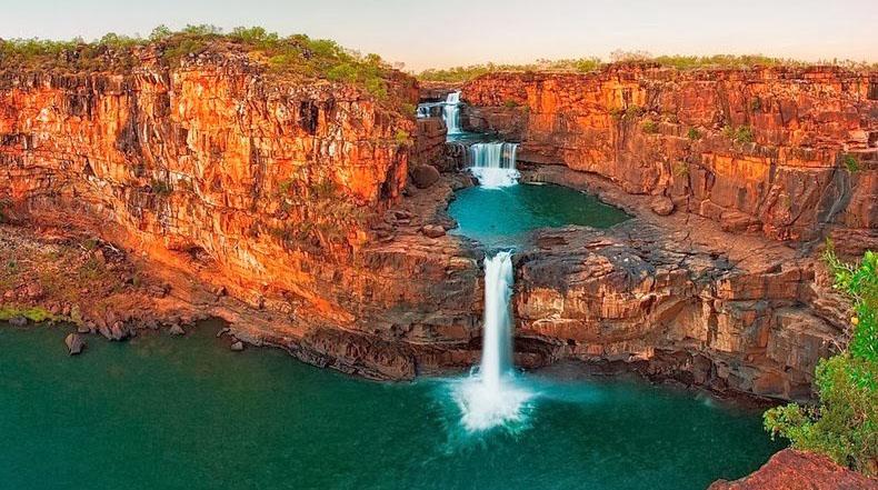 Mitchell Falls: una cascada de cuatro niveles en Australia