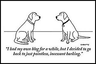dogs blogging blog joke funny