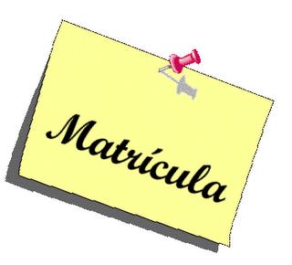 MATRÍCULACIÓN