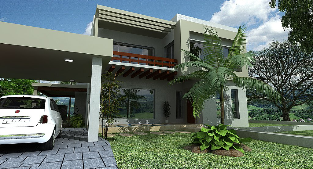 Pakistan 3d Front elevation House Design House Plans,3D Model HOUSE ...