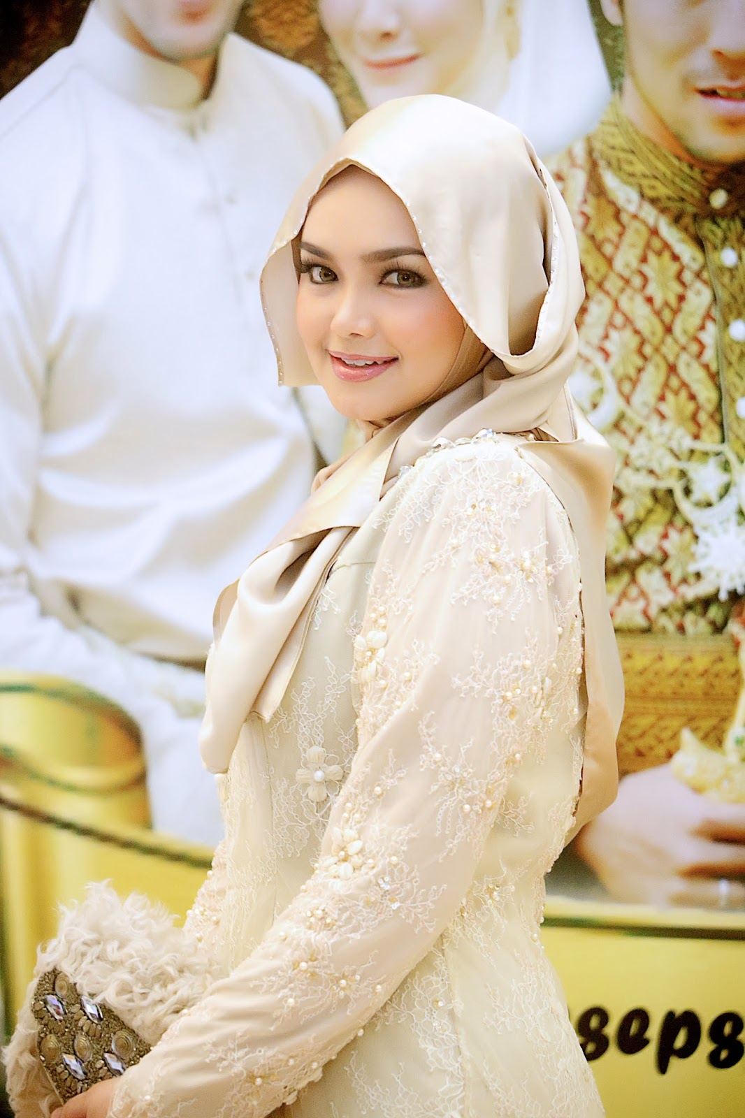 hijab style artis cantik siti nurhaliza tutorial hijab