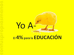 POR LA EDUCACION