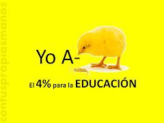 POR LA EDUCACION