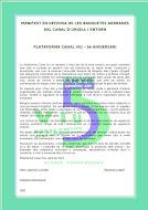 Signa el Nostre Nou Manifest 2021      5 anys Creant Consciència