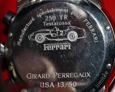 Rare Girard-Perregaux Ferrari 250 Testarossa Edition