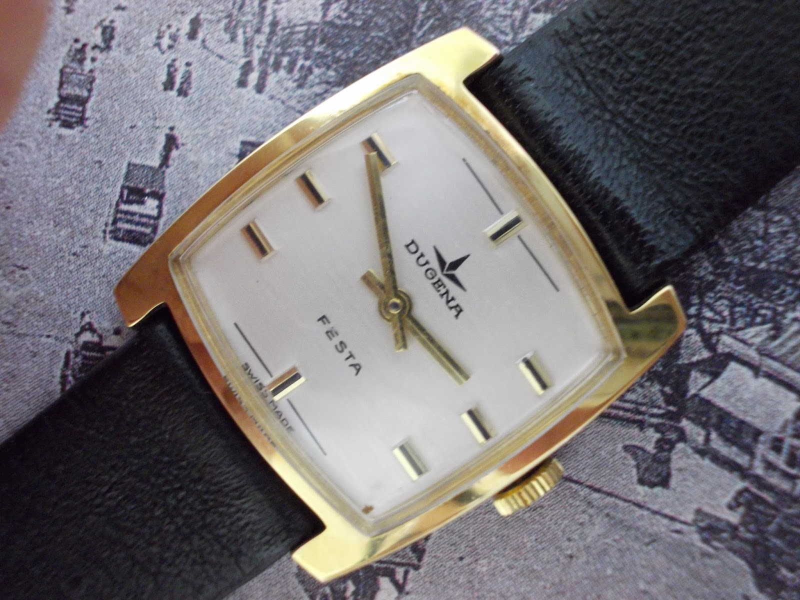 vintage watches: Dugena lady RM350
