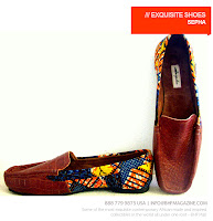 Sepha African Print loafers - BHF Shopping mall - iloveankara.blogspot.co.uk
