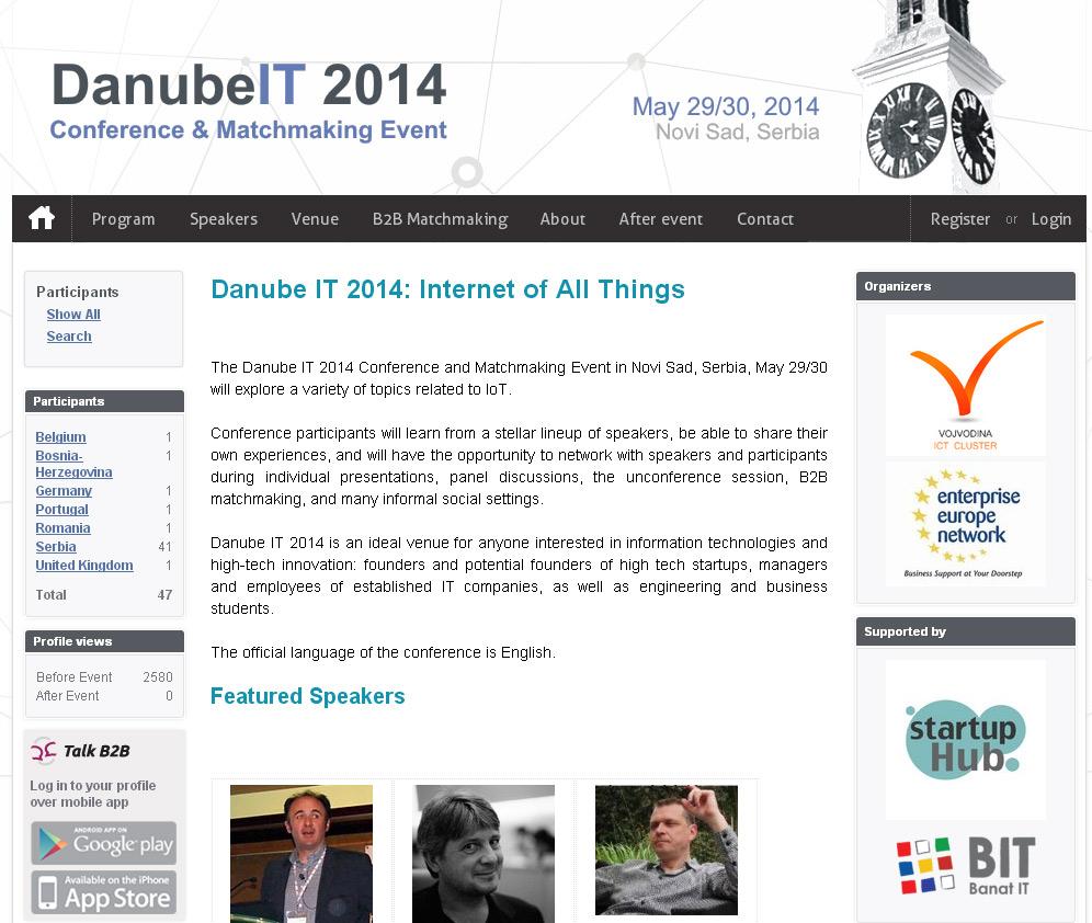 DanubeIT 2014.  konferencija