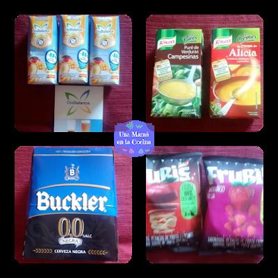 Zumos DíaBalance, Cremas de verduras Knorr, pack de cervezas sin alcohol Buckler, fruta como snack Frubis