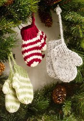 Free Knitting Patterns For Sweater Ornaments : This and That... Maggies Blog: Learn to knit... more (free!) Christmas t...