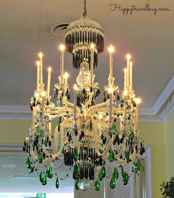 Chandelier in the Greenbrier Dining Room
