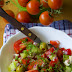 Wiosenna sałatka, czyli wegańska wariacja na temat horiatiki
