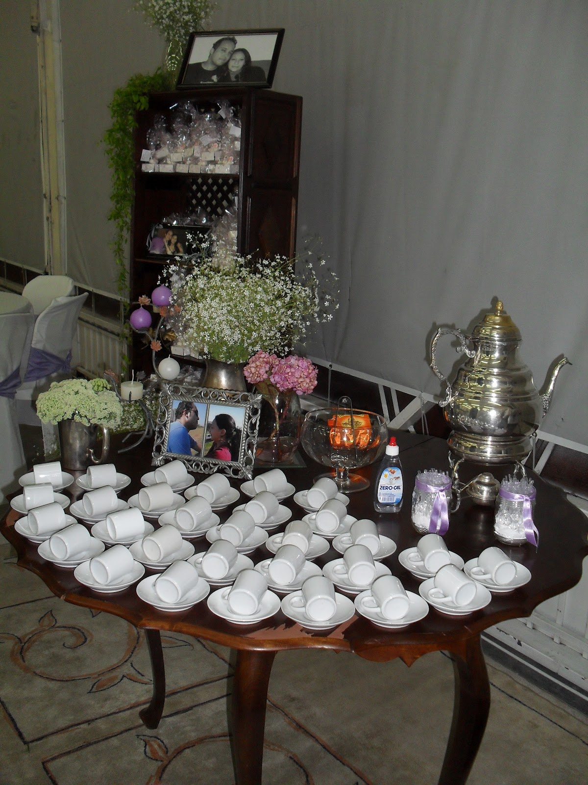 Casamento na videira cake sweet for Mesas de cafeteria