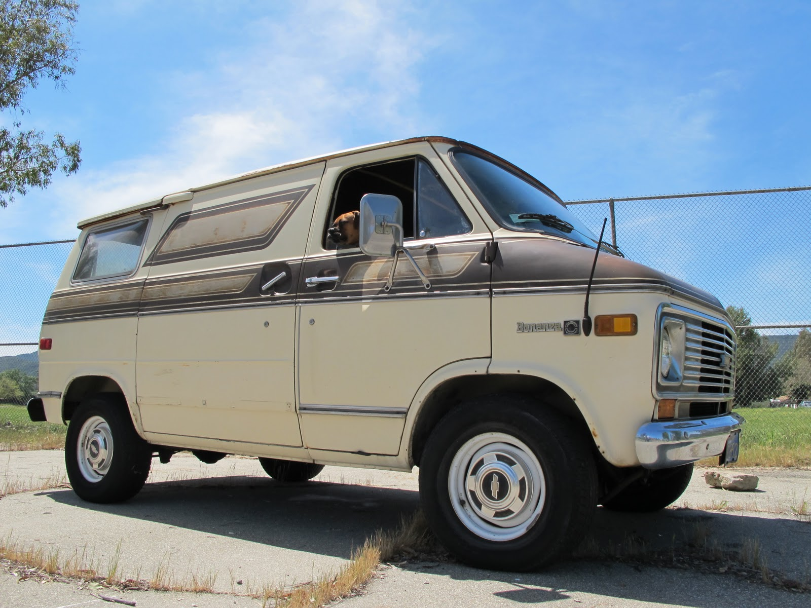 Old Biltwell Blog: Chevy Shorty Van for Sale, Son