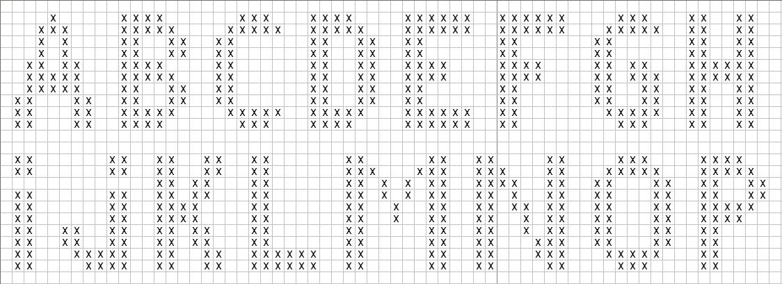 Hervorragend je m'éclate avec mes 10 doigts: Alphabet au point de croix LF66