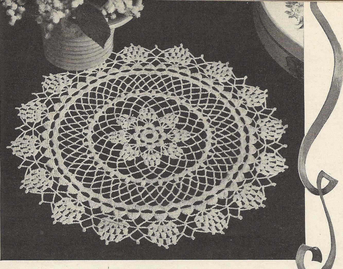 Free Crochet Star Doily Pattern : Vintage Knit Crochet Pattern Shop: Doilies Star Book 44 ...