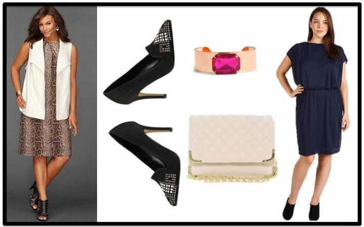 Plus size blog, plus size dresses, Macys, JCPenney,