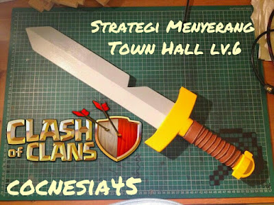 strategi menyerang Clash of Clans Town Hall 6