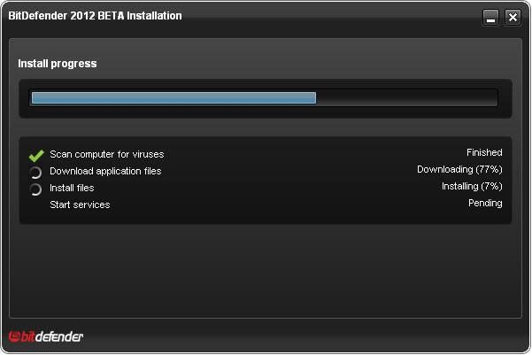 ����� ������� ��������� BitDefender Total BitDefender Total Security 2012 beta initial scan.jpg