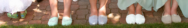 Wedding Day Details - Toms Shoes. Tammy Sue Allen Photography, Lansing Michigan.