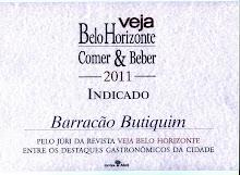 Revista Veja - Guia Comer & Beber 2011/2012 - Belo Horizonte