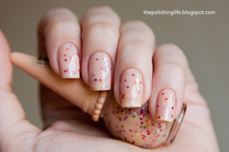 Etude House Sweet Recipe Ice Cream Nails Apricot