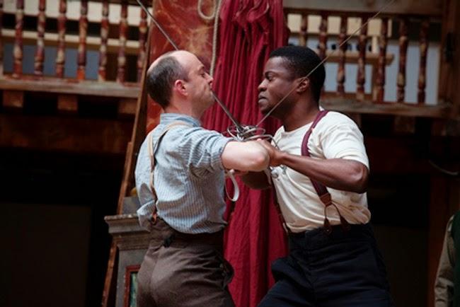 Hamlet, por el Shakespeare's Globe. Foto.