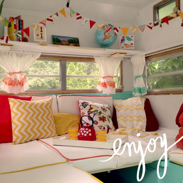 Opendoor Studio Our Little Retro Camper See Her In
