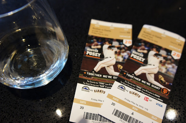 Tickets to the San Francisco Giants game