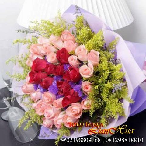 bunga mawar untuk ulang tahun pacar dan orang tercinta