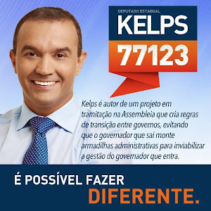 """Vote """"Kelps Lima 77123"""" para deputado estadual."""