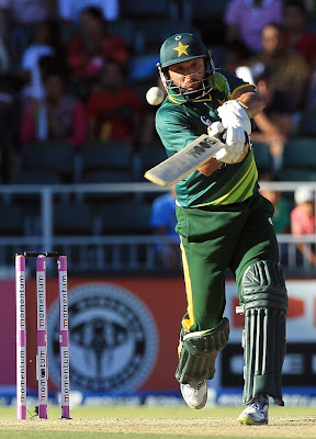 Afridi starred with bat and scored 76 runs
