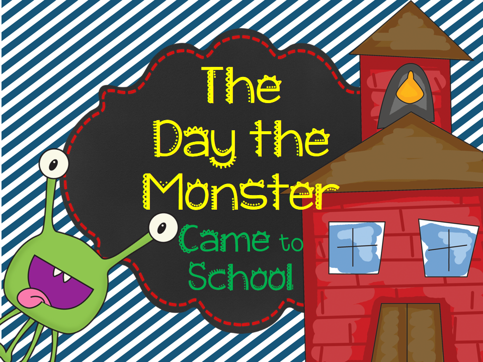 http://www.teacherspayteachers.com/Product/The-Day-the-Monster-Came-to-School-756111