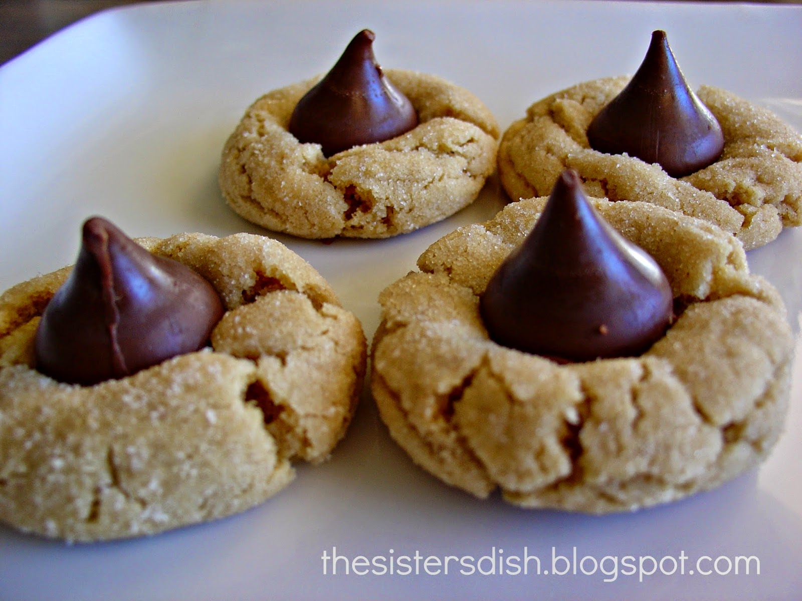 The Sisters Dish: Peanut Butter Blossoms