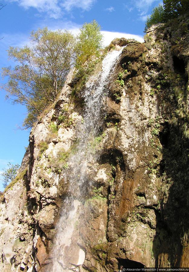 Главный Медовый водопад