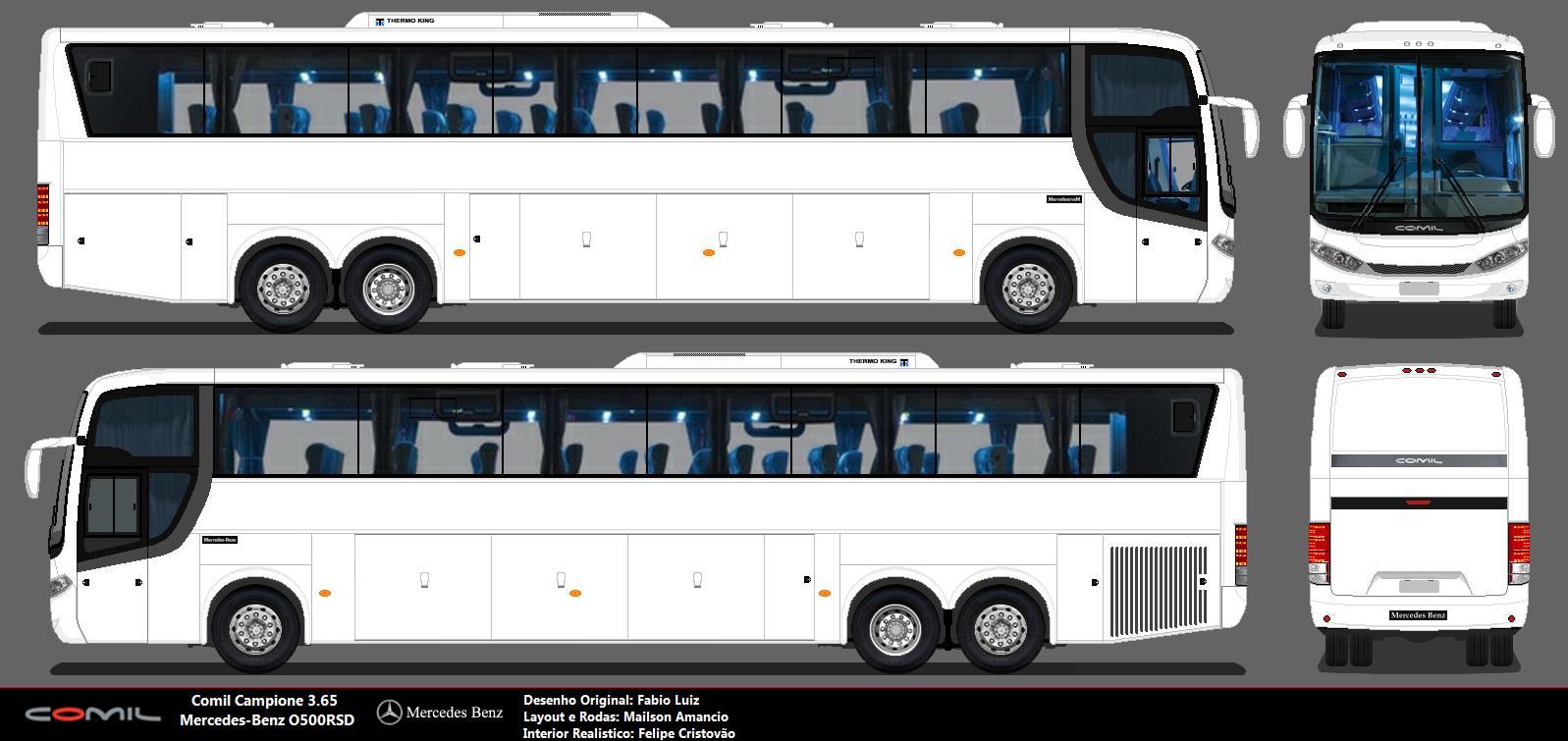 Comil campione 3 65 pttm brasil mod bus download comil campione 3 65 bus 2012 blueprint hum3d malvernweather Images