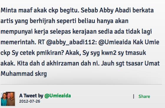 Twitter-Abby-Abadi-Nasihat-Umie-Aida