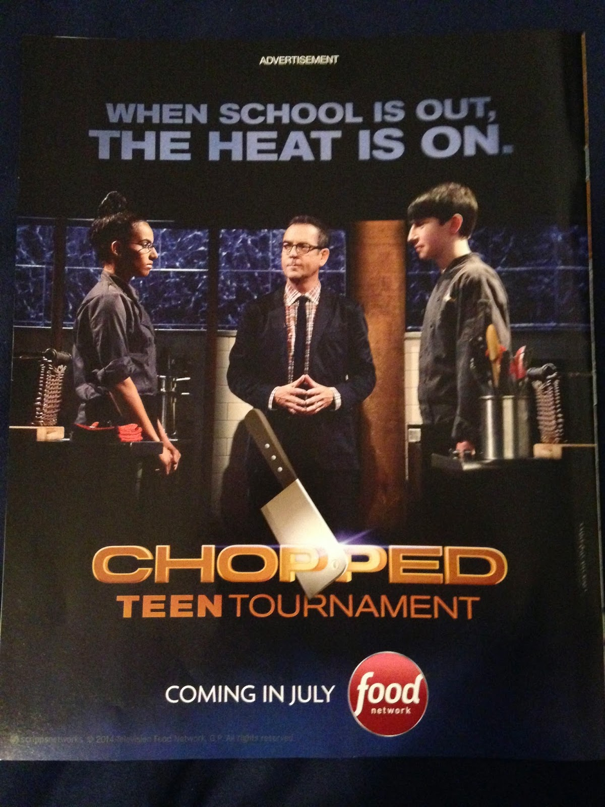 Chopped Food Network food network gossip: chopped: teen tournament coming soon