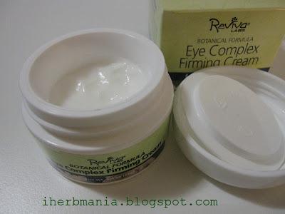 Contorno Ojos Reviva Labs Eye Complex Firming Cream Iherb