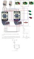 Motor de dos velocidades con devanados independientes circuito de fuerza y de mando