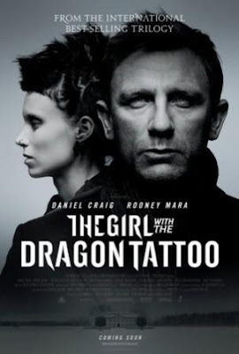 La chica del dragón tatuado (2012).The Girl with the Dragon Tattoo (2012). poster movie 2011