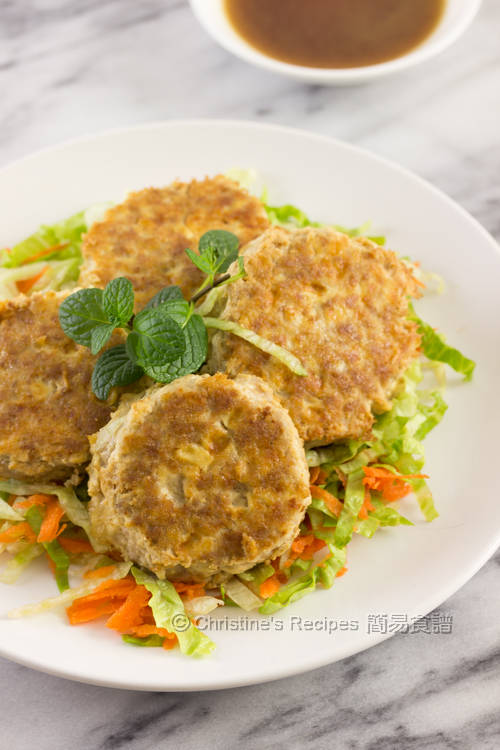 Tofu and Pork Mince Patties01