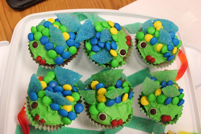 Fish Cupcake Decorating Inspiration