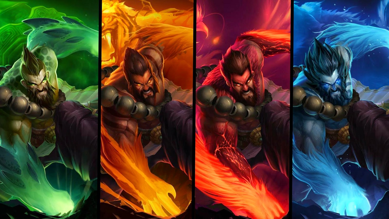 Udyr League of Legends Wallpaper