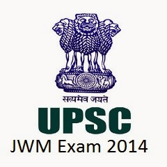 Download UPSC JWM Exam Admit Card/Hall Ticket @ upsc.gov.in